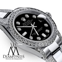 Rolex Women's 31mm Rolex S/steel Oyster Perpetual Datejust...
