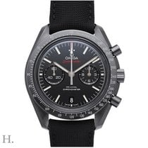 Omega Speedmaster Moonwatch Co-Axial Chronograph Dark Side of...