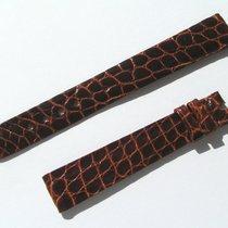Chopard Croco Band Starp Brown 14 Mm 70/105 New C14-014-70%