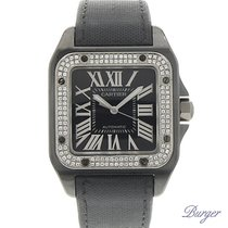 Cartier Santos 100 PVD Diamond