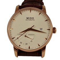 Mido Baroncelli Gent Brown Strap Steel Case M86053118