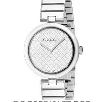 Gucci Diamantissima White Dial Stainless Steel Medium