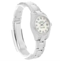 Rolex Datejust Steel White Gold Mother Of Pearl Ladies Watch...