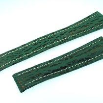 Breitling Band 22mm Hai Grün Green Shark Strap Correa Für...