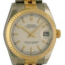 Rolex Datejust Medium Stahl Gelbgold Armband Jubilé 31mm...
