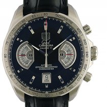 TAG Heuer Grand Carrera Chronograph Stahl Automatik 43mm