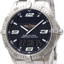 Breitling Aerospace Titanium Quartz Mens Watch E65362 Bf311868
