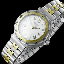 Hermès Ladies Captain Nemo Quartz Divers Watch - SS & 18K...