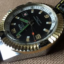 Sicura (by Breiitling) double crown 23 jewels vintage diver ...