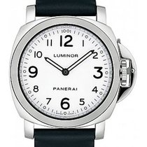 Πανερέ (Panerai) Luminor Base Hand-Wound Stainless Steel PAM00114
