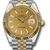 Rolex 126333 Oyster Perpetual Datejust 41mm/18K Yellow Gold Watch