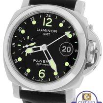 Panerai PAM 159 Luminor GMT 40mm Date Automatic Black Watch...