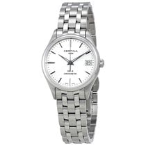 Certina DS-8 Silver Dial Ladies Stainless Steel Watch