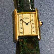 Cartier Tank Quartz placcato oro