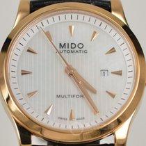 Mido Multifort Lady Grey Dial Black Strap Data M0050073610100
