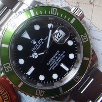 Rolex 2004 F Serial MKI FAT FOUR Submariner Unpolished Box Papers