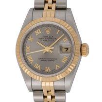 Rolex : Ladies Datejust 26mm :  79173 :  18k Gold &...