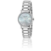 Gucci G-Timeless Restyle Cadran Diamanté 27 mm Acier YA126543