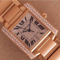 Cartier Tank Francaise GM automatic Diamonds