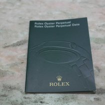 Rolex booklet oyster perpetual/oyster date english language 2009