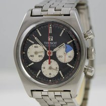 Tissot Seastar Steel 1970 Black Dial