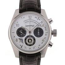 Eberhard & Co. Chronographe 120 Anniversario 42 White Dial