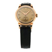 Patek Philippe 1953 18k Rose Gold Calatrava Mens Watch 1491