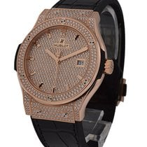 Hublot 542.OX.9010.LR.1704 Classic Fusion King 42mm in Rose...