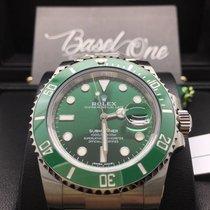 Rolex Submariner Date green 116610lv hulk