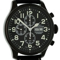 Zeno-Watch Basel Blacky Chrono Day Date Chronograph Automatik...