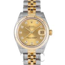 Rolex Datejust Lady 31 mm Gold colored/18k gold Ø31 mm - 178273