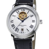 Frederique Constant CLASSICS HEART BEAT Steel-Silver Dial-Blac...