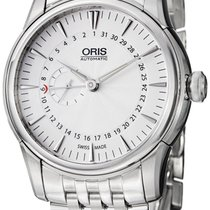 Oris Artelier Automatic Small Second Pointer Date Steel Mens...