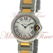 Cartier Ballon Bleu 28mm, Silver Dial - Stainless Steel &...