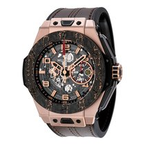 Hublot Mens 401.OJ.0123.VR BigBang Ferrari King Carbon Watch
