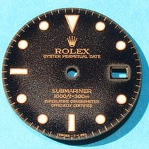 Rolex SUBMARINER DATE TROPICAL GILT 16808, 16803, 16613, 16618