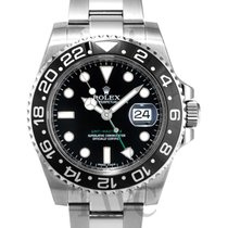 롤렉스 (Rolex) GMT-Master II Black/Steel Ø40mm - 116710 LN