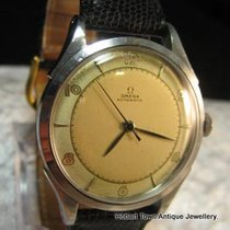 Omega Stunning Bumper Auto St.Stl Vintage 50s Perfect Orign; Dial