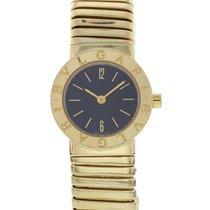 Bulgari Tubogas 18K Yellow Gold Watch BB 23 2T