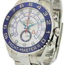 Rolex Unworn 116680 Yacht-Master II in Stainless Steel with...