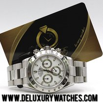 Rolex Daytona 116520 White RRR Card Z Full Set  Like New