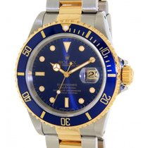 Rolex Submariner 16613 Steel, Yellow Gold, 40mm