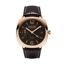 Panerai Radiomir 3 Days GMT Oro Rosso  Mens Watch PAM00421