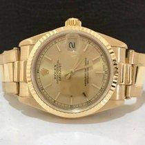Rolex Datejust Midsize Todo Em Ouro