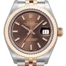 Rolex Lady-Datejust 28 279171 Choco Index Jubile-Band