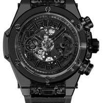 Hublot Big Bang Unico All Black Sapphire 45mm Automatic...