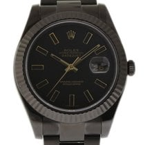 Rolex Datejust II 116334 41mm Stainless Steel Coated PVD/DLC...