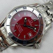 Omega Seamaster Lady  120 m Quarz - Custom Red Dial Edition