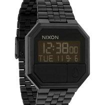Nixon Re-Run A158-001 All Black Digitale Unisexuhr
