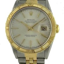 Rolex Mens Rolex Thunder Bird Datejust Two Tone 18k Stainless...